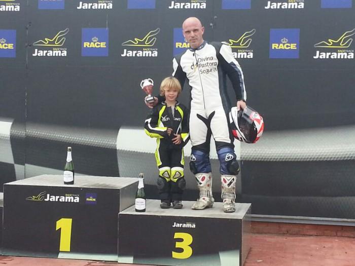 1ª RACE 2014 Podium con Roberto